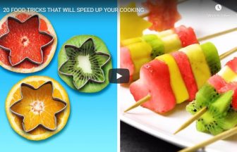 20 FOOD TRICKS THAT WILL SPEED UP YOUR COOKING