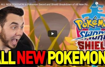 ALL NEW POKEMON in Pokemon Sword and Shield! Breakdown of All New Pokemon!