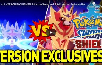ALL VERSION EXCLUSIVES! Pokemon Sword and Shield Version Exclusive Breakdown!