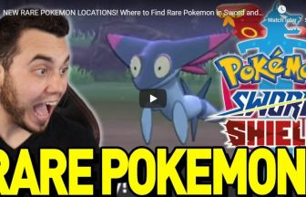 NEW RARE POKEMON LOCATIONS! Where to Find Rare Pokemon in Sword and Shield! Dreepy and More!