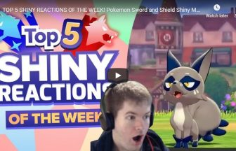 TOP 5 SHINY REACTIONS OF THE WEEK! Pokemon Sword and Shield Shiny Montage!