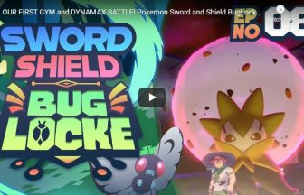 OUR FIRST GYM and DYNAMAX BATTLE! Pokemon Sword and Shield BugLocke | Episode 8