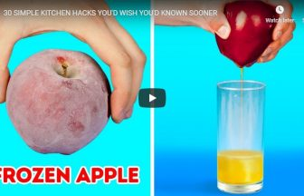 30 SIMPLE KITCHEN HACKS YOU'D WISH YOU'D KNOWN SOONER