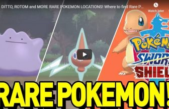 DITTO, ROTOM and MORE RARE POKEMON LOCATIONS! Where to find Rare Pokemon in Sword and Shield!