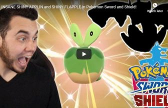 INSANE SHINY APPLIN and SHINY FLAPPLE in Pokemon Sword and Shield!