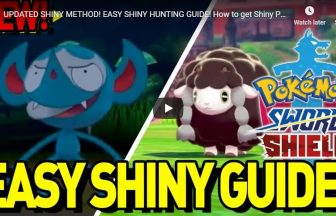 UPDATED SHINY METHOD! EASY SHINY HUNTING GUIDE! How to get Shiny Pokemon in Pokemon Sword and Shield