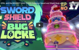 OPAL and the BIGGEST CAKE EVER!! Pokemon Sword and Shield BugLocke | Episode 17