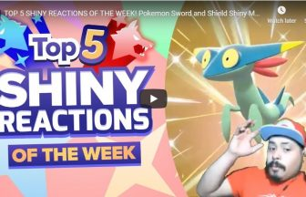 TOP 5 SHINY REACTIONS OF THE WEEK! Pokemon Sword and Shield Shiny Montage! Week 2!