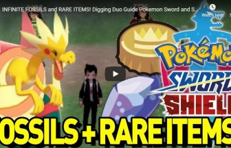 INFINITE FOSSILS and RARE ITEMS! Digging Duo Guide Pokemon Sword and Shield!