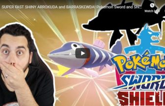 SUPER FAST SHINY ARROKUDA and BARRASKEWDA! Pokemon Sword and Shield Shiny Reaction!