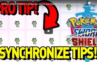 HOW to SYNCHRONIZE in Pokemon Sword and Shield! Shiny Hunting and Nature Guide!