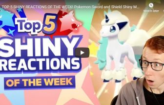 TOP 5 SHINY REACTIONS OF THE WEEK! Pokemon Sword and Shield Shiny Montage! Episode 4